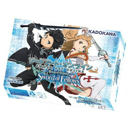 Sword Art Online Board Game: Sword of Fellows (Board Game Art)