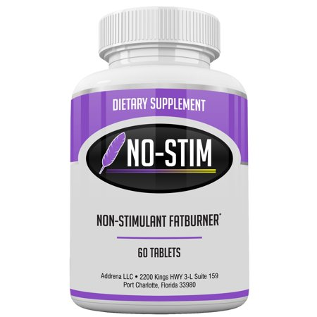 Non Stimulant Fat Burner Diet Pills That Work- No Stimulant Appetite Suppressant & Best Caffeine Free Weight Loss Supplement for Women & Men- Natural Thermogenic Fat Loss Pill - No-Stim 60