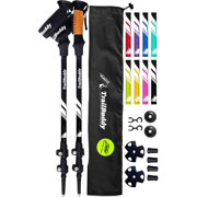 Best trekking poles - TrailBuddy Trekking Poles - 2-pc Pack Adjustable Hiking Review