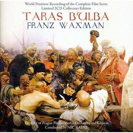 Taras Bulba (World Premiere Recording of the Complete Film Score) (CD) (Halloween Film Music Score)
