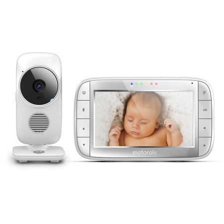 motorola mbp48 video baby monitor 5 monitor two way talk. Black Bedroom Furniture Sets. Home Design Ideas