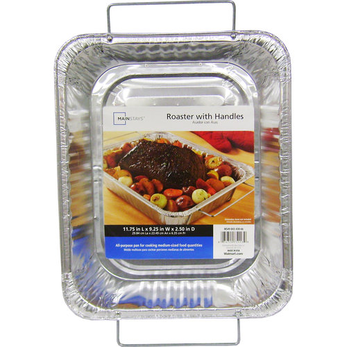 Durable Foil HandleWare The Small Handle Roaster D75113 - Pack of 12