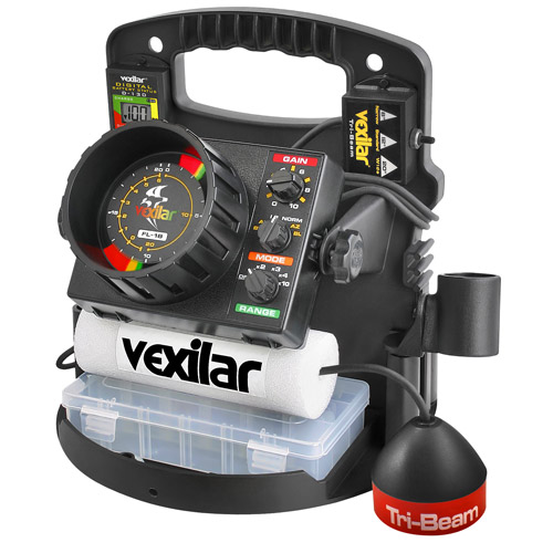 Vexilar FL-18 Tri-Beam Fish Finder Pro-Pack II