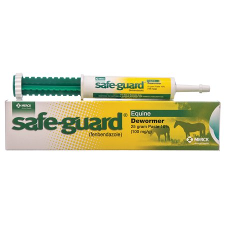 SafeGuard Horse Dewormer Paste, 1-dose (25 g) (Pyrantel Paste Dewormer)