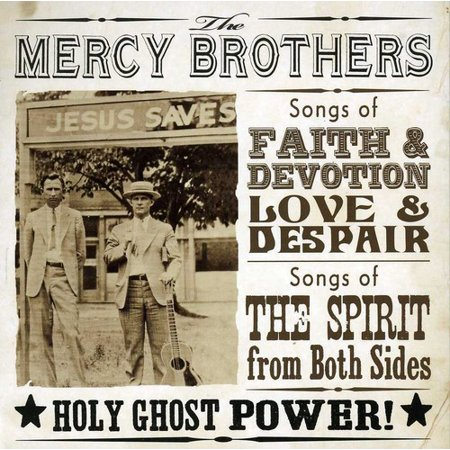 Mercy Brothers   Holy Ghost Power   Cd