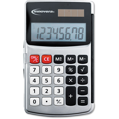 Innovera Eight-Digit LCD Handheld Calculator