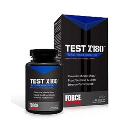 Force Factor Test X 180 60 Capsules