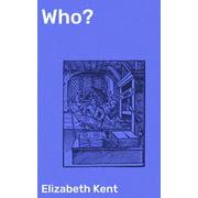 Who? - eBook