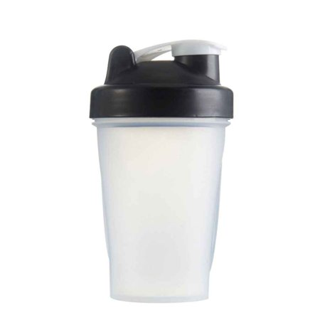 13.6oz Gym Protein Shaker Mixer Drink Whisk Ball Portable Leakproof Sports Water Bottles (Sports Drink Shaker Bottle)