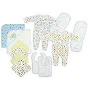 Bambini Newborn Baby Shower Layette Gift Set, 16pc (Baby Boys)