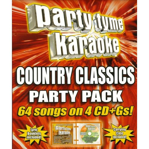 Party Tyme Karaoke: Country Classics Party Pack (4 Disc Box Set)