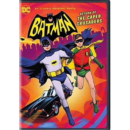Batman: Return of the Caped Crusaders (DVD) (Batman Return Of The Caped Crusaders Comic)