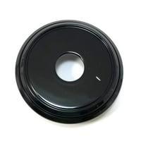 "Asanti Forged Private Label Gloss Black 3"" OD Wheel Center Hub Cap"