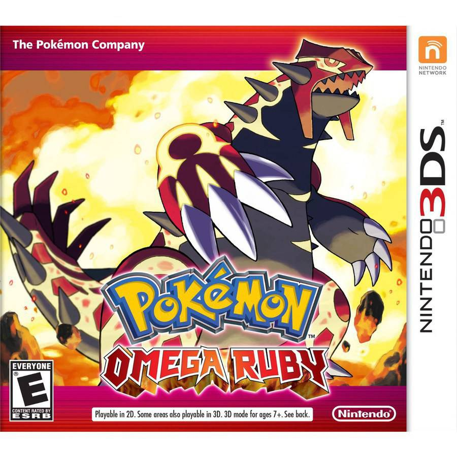 Pokemon Omega Ruby (Nintendo 3DS) - Pre-Owned