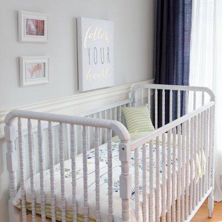 Atelier  Dele Apple Tree 4 Piece Organic Baby Down Duvet Crib Bedding Set