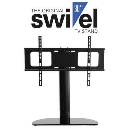 Hta3770 Universal Replacement Swivel Tv Stand Pedestal Base Fits Most 37   To 70   Lcd Led Tvs