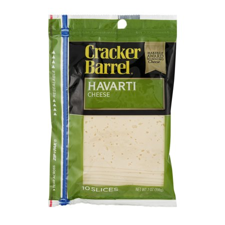 Cracker barrel cheese havarti 11 ct for How did cracker barrel get its name