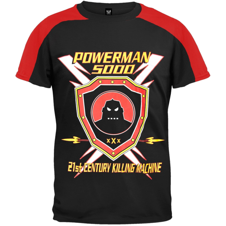 Powerman 5000 - Shield - Baseball T-Shirt
