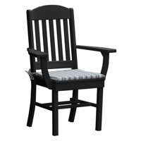 Radionic Hi Tech Rochester Recycled Plastic Patio Dining Arm Chair