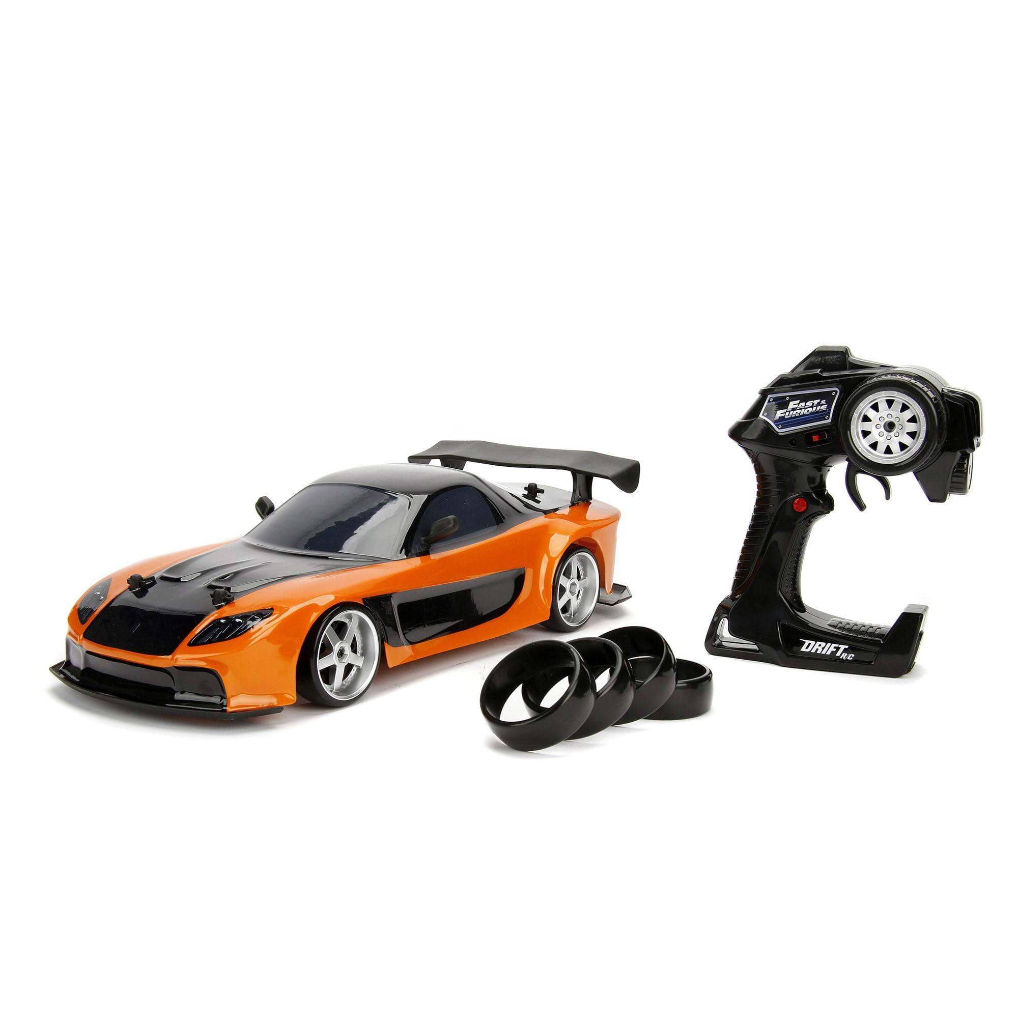 Jada Toys Fast And Furious 1 10 Drift R C Mazda Rx 7 Walmart Com Walmart Com