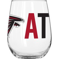 NFL Atlanta Falcons 16 oz. Overtime Curved Beverage Glass