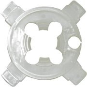 Water Source CG500 Plastic Cable Guard, 7.5 x 5.5 x 0.5 in.
