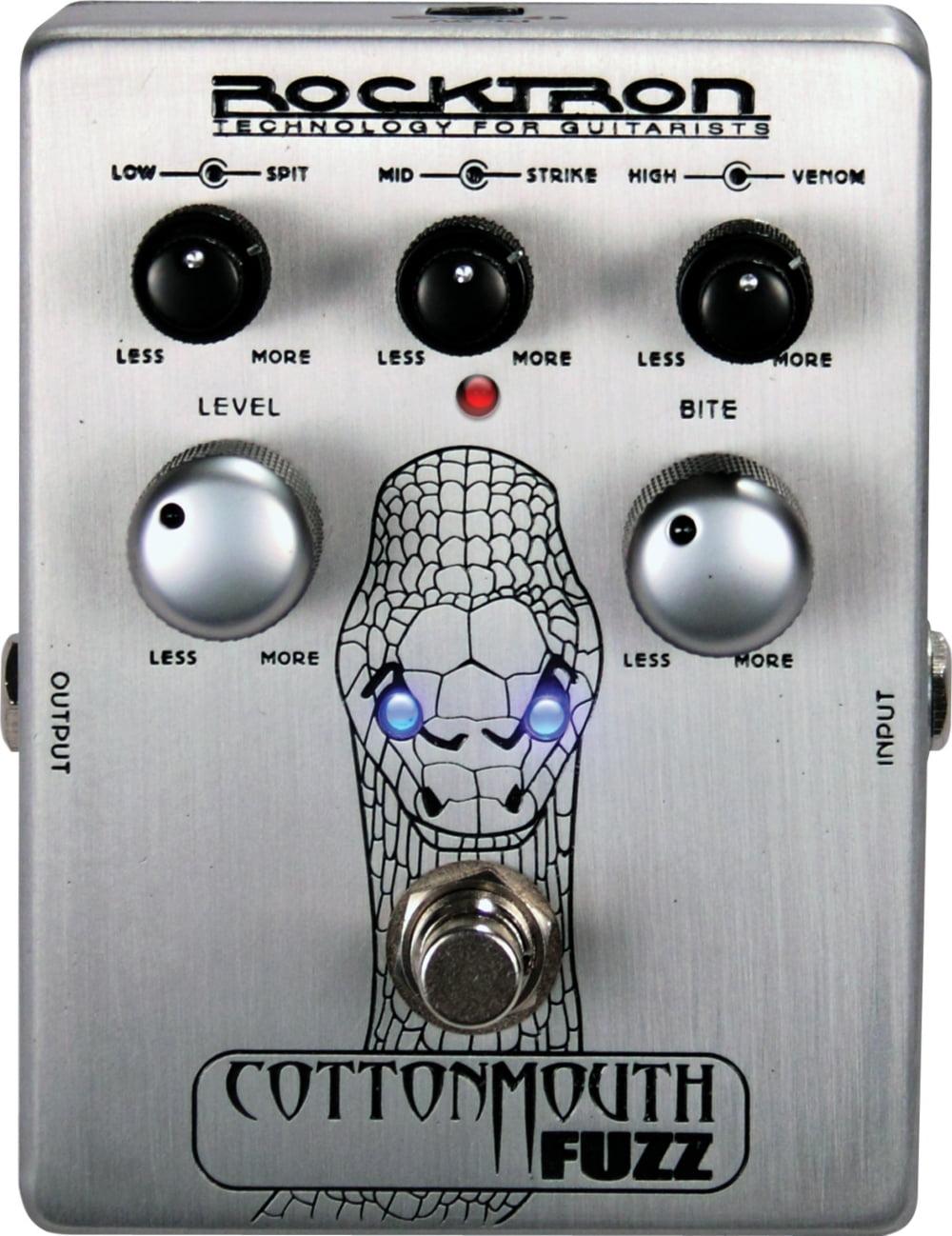 Rocktron Cotton Mouth Fuzz Guitar Effects Pedal by Rocktron