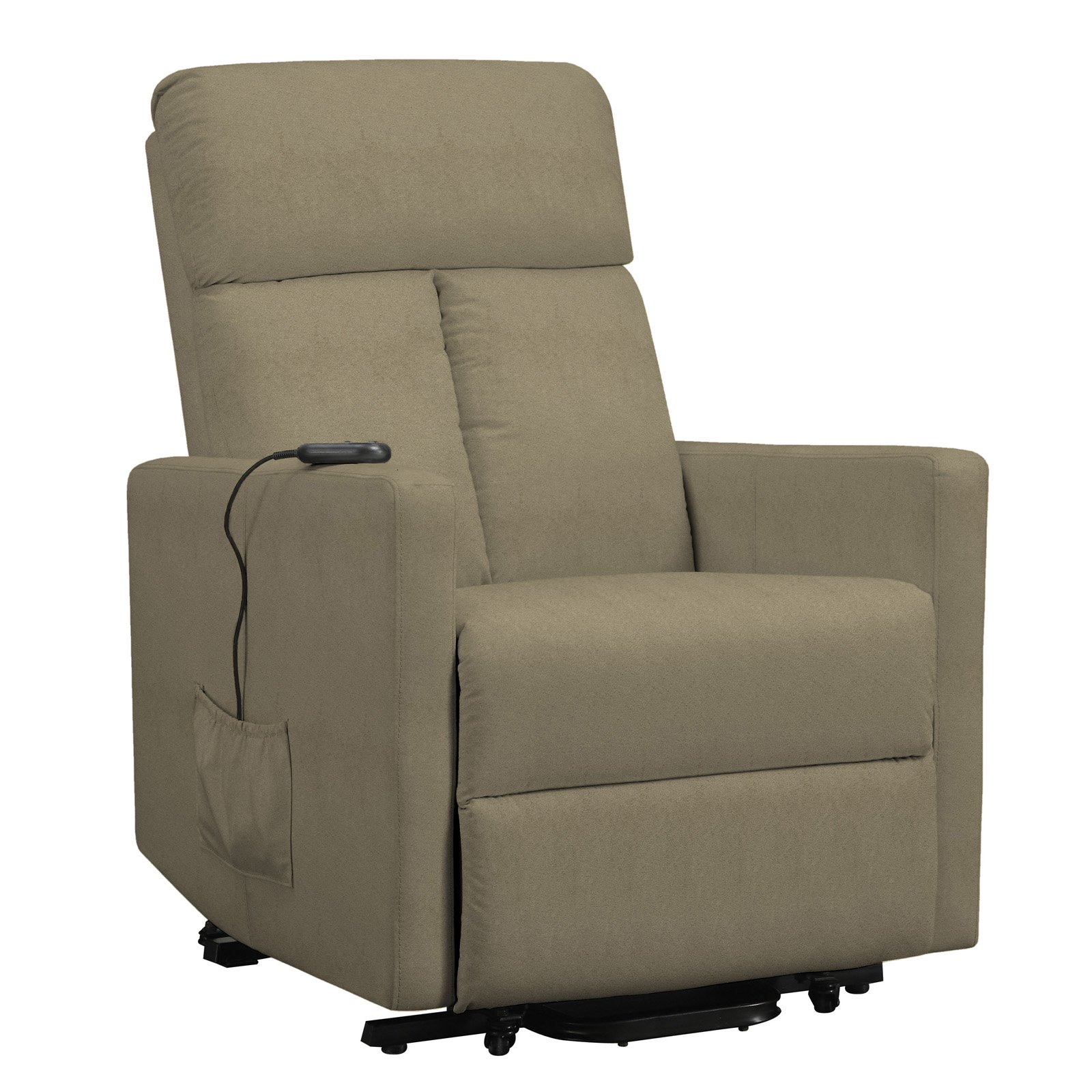 ProLounger Power Lift Chair Microfiber Recliner, T-Back, Multiple Colors by Handy Living