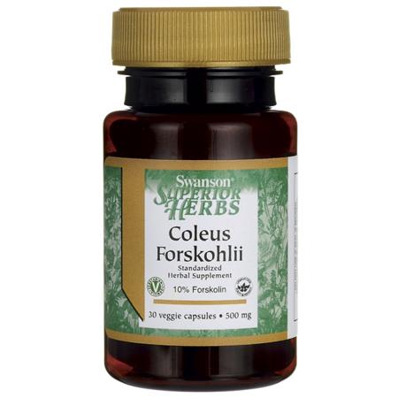 Swanson Coleus Forskohlii 500 mg 30 Veg Caps