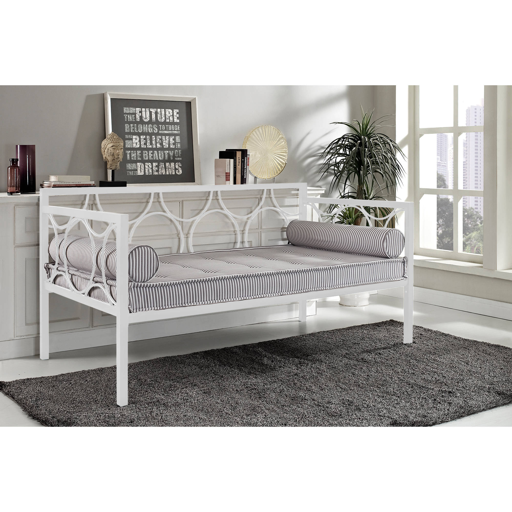 Rebecca Metal Daybed, Multiple Colors   Walmart.com