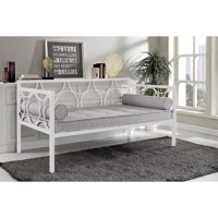 DHP Rebecca Contemporary Twin Metal Daybed Frame, Multiple Colors