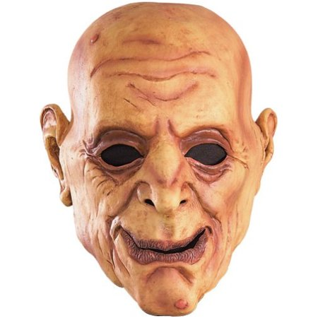 Funny Wrinkly Bald Old Man Scary Halloween Costume Mask Adult](Scary Halloween Main Dishes)