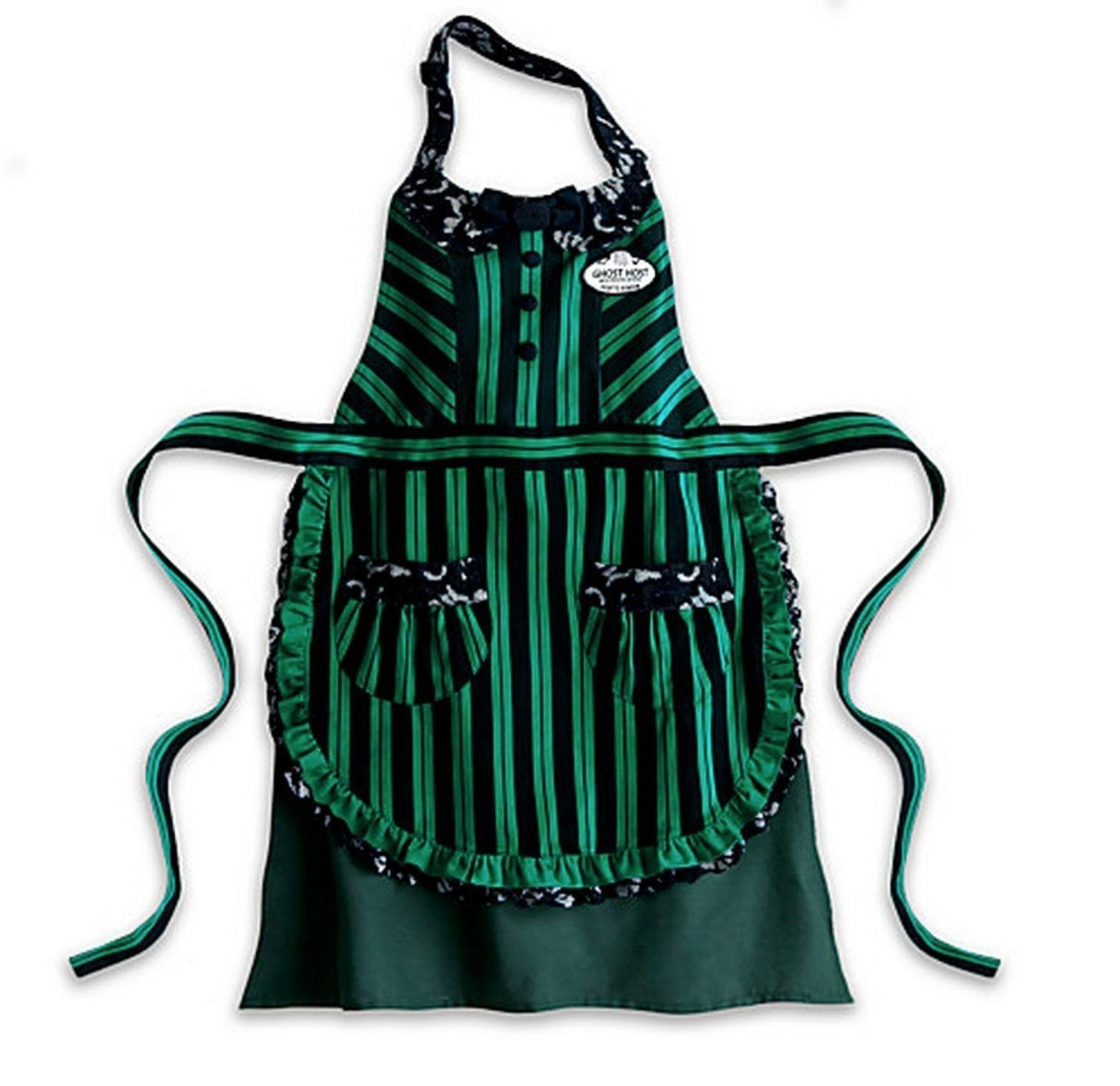 Disney Parks The Haunted Mansion Ghost Host Hostess Apron