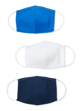 Kids' Reusable Face Masks, 3-pack