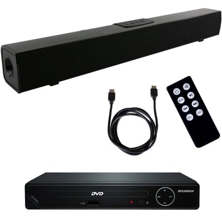 Xtreme X3 Bluetooth Home Theater Sound Bar System W  Hd Dvd Player And Hdmi Cable