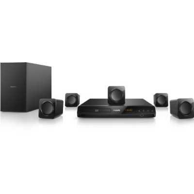 Refurbished Philips HTB3524 3D Wired Home Theater System by