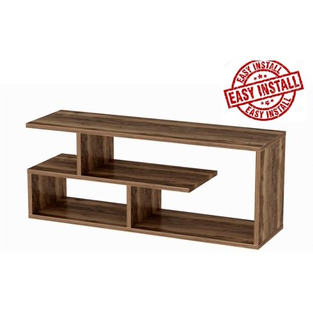 Astounding Tv Stand For 55 Inch Tv Tv Stands Tv Stands For Flat Screens Tv Stand Compatible With 55 50 42 40 32 Inch Tv Tv Stand Brown Tv Stand With Home Interior And Landscaping Mentranervesignezvosmurscom