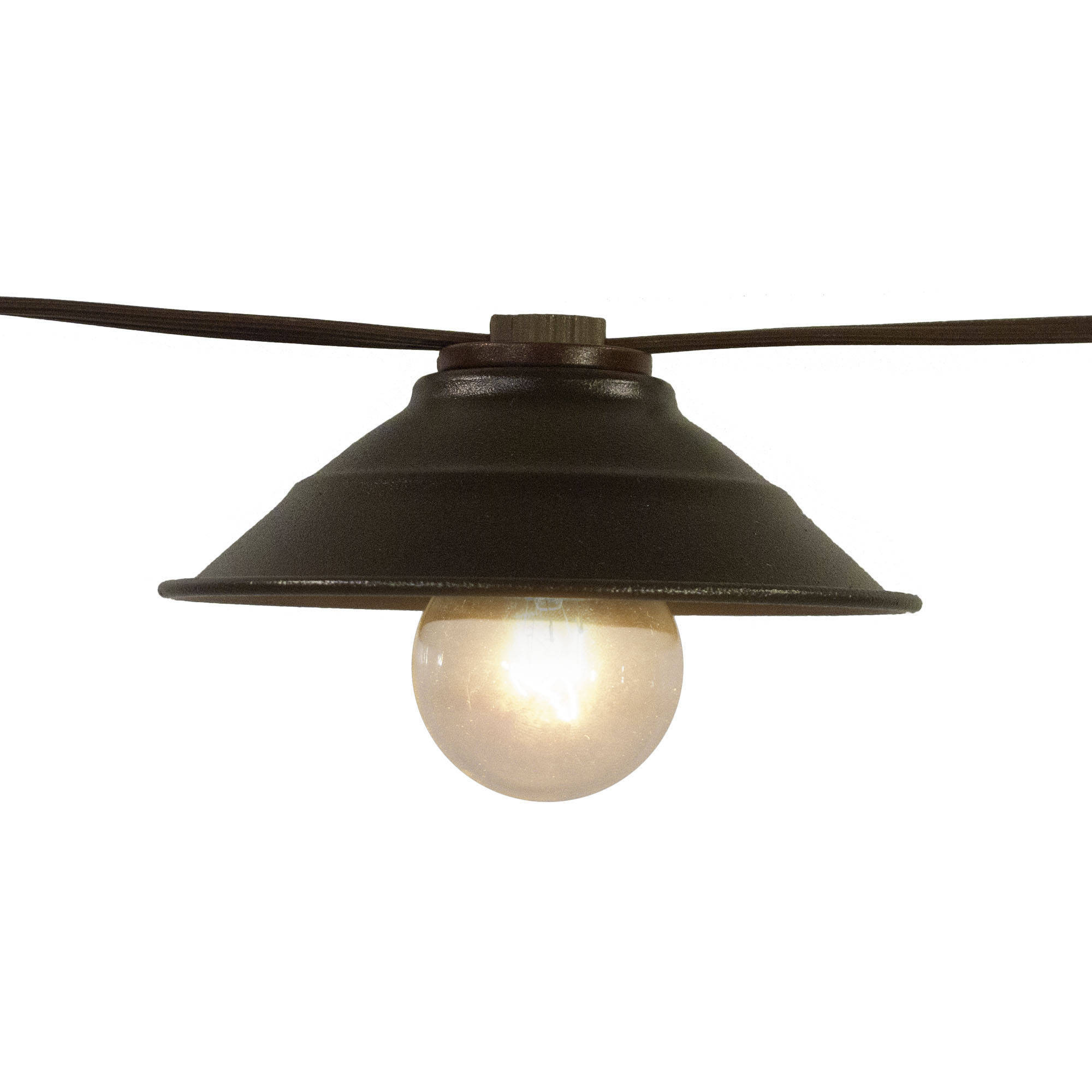 Better Homes and Gardens 10-Count Vintage Cafe Shade String Lights ...