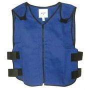 Best Cooling Vests - Cooling Vest, L, Blue, 22 In. L Review
