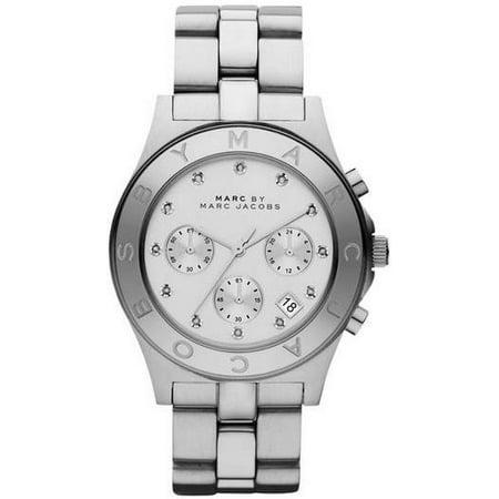 Women's Marc Jacobs Blade Chronograph Glitz Watch MBM3100