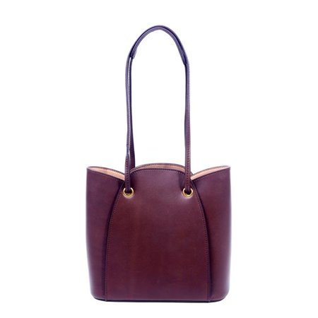 Foressence FE8011-BROWN Sophie Genuine Leather Tote - Brown - image 1 de 1