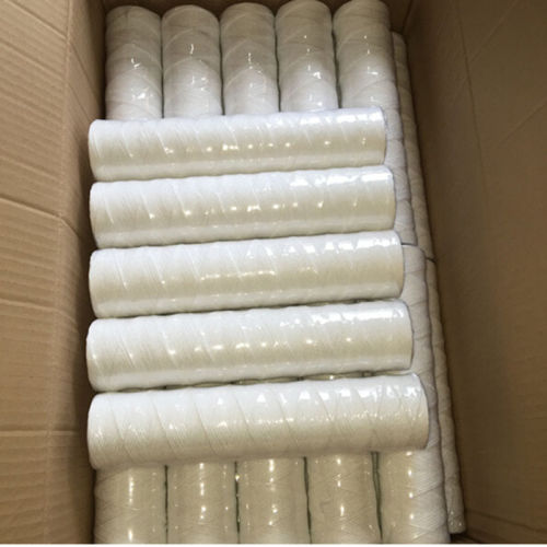 """25-Pack of 5 Mic Wound String Sediment Water Filter Cartridges 10""""x2,5"""" for RO"""