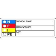 HARRIS LB131851 HMIG Label,1-1/8 In. H,3-1/8 In.W,PK1000