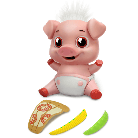 Munchkinz, Interactive Pet, Eating, Pig