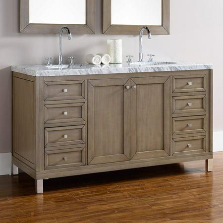 james martin chicago 60 in double bathroom vanity