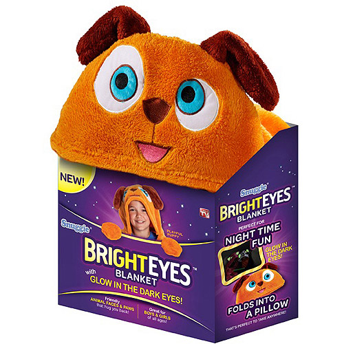 As Seen on TV Bright Eyes Blanket, Puppy