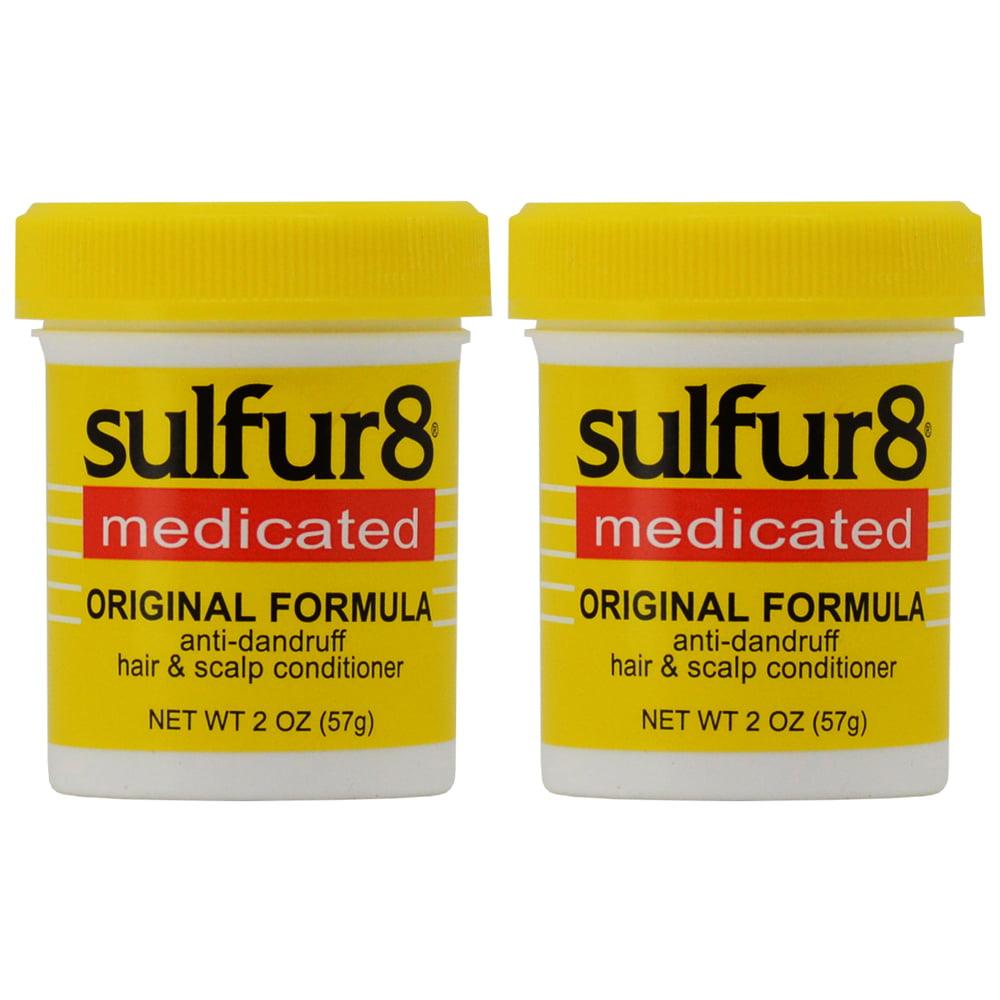 "Sulfur8 Original Formula Anti-dandruff Hair&Scalp Conditioner 2oz ""Pack of 2"""