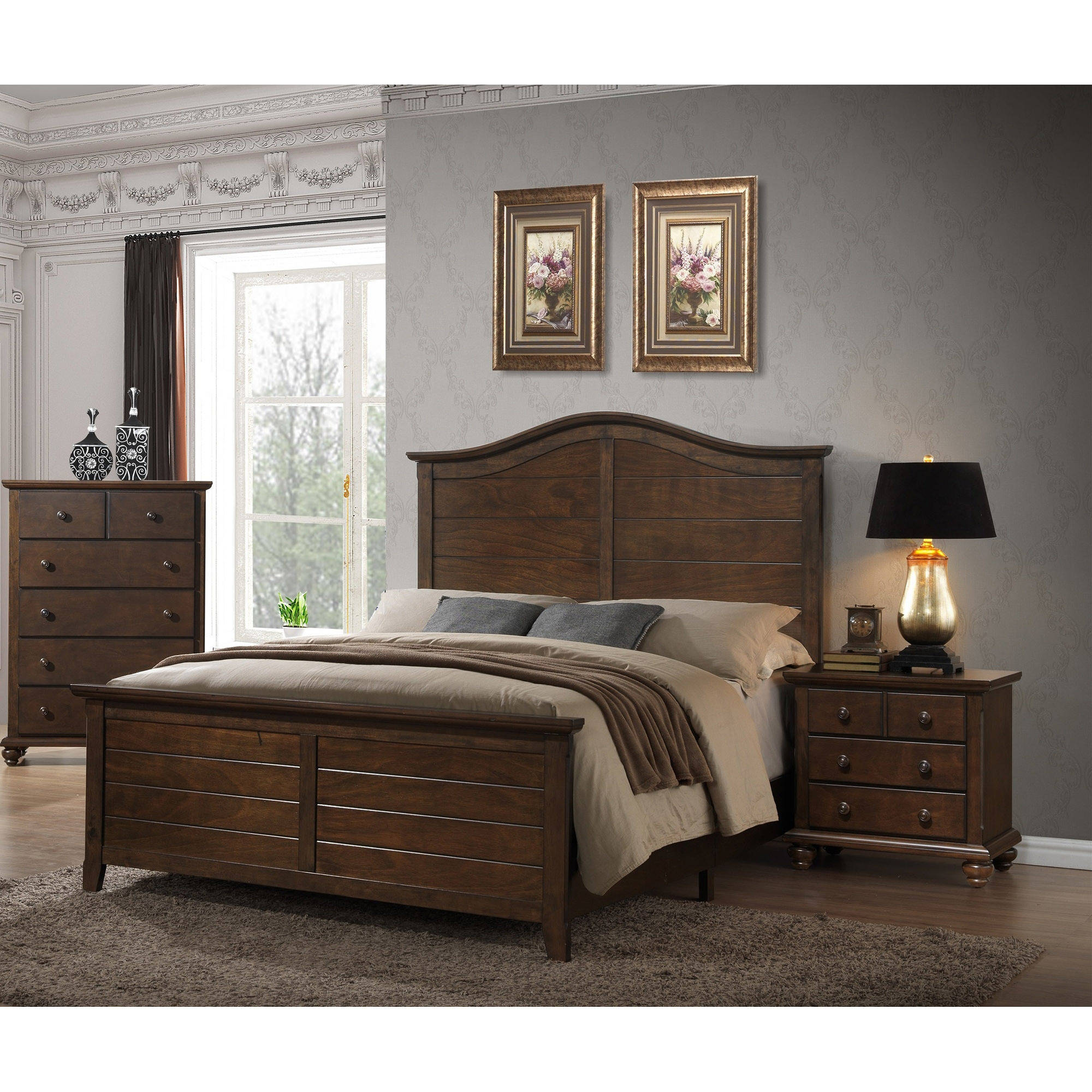 Better Homes and Gardens Hillbrooke Collection, Mocha Finish