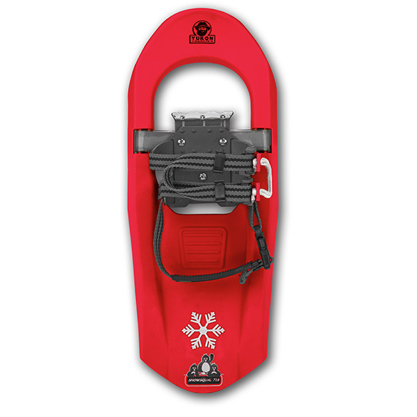 Yukon Charlie's Junior Molded Series Snowshoe For kids up to 100lbs Red by
