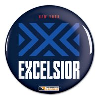 "New York Excelsior WinCraft Team Logo 3"" Button Pin - No Size"